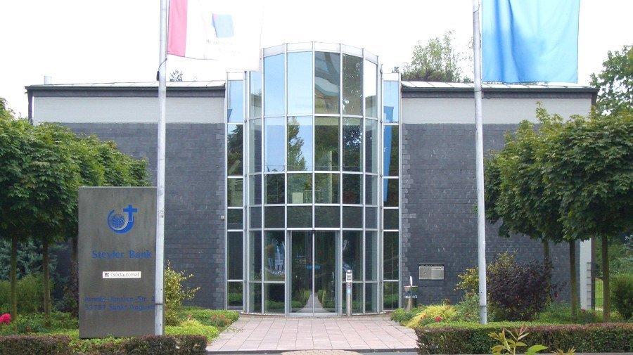 Sitz der Kirchenbank Steyler Ethik Bank in Sankt Augustin bei Bonn